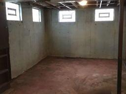 Water seeping into the basement when there is a lot of rain is resolved with WaterGuard Basement Waterproofing System.