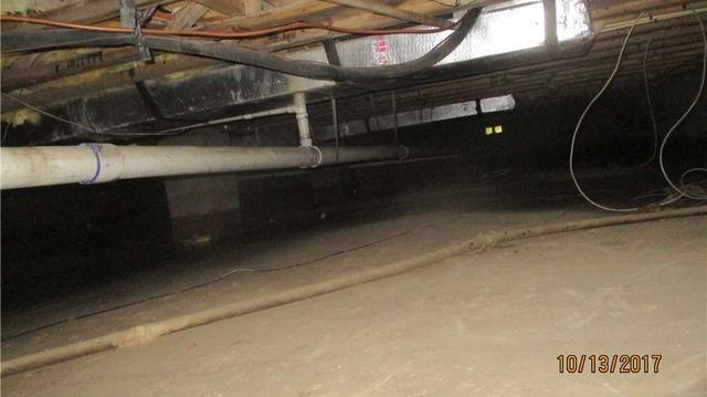 Sardinia, Ohio Crawl Space Encapsulated - Before Photo