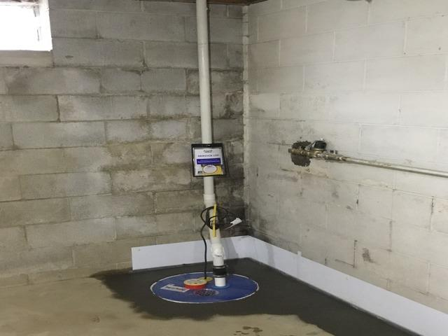 Lynchburg, Ohio Home Fitted with SuperSump - After Photo