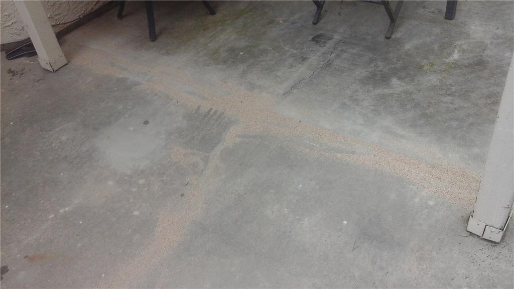 A Cracked Patio - After Photo