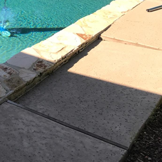 Lifting Pool Deck - Before Photo