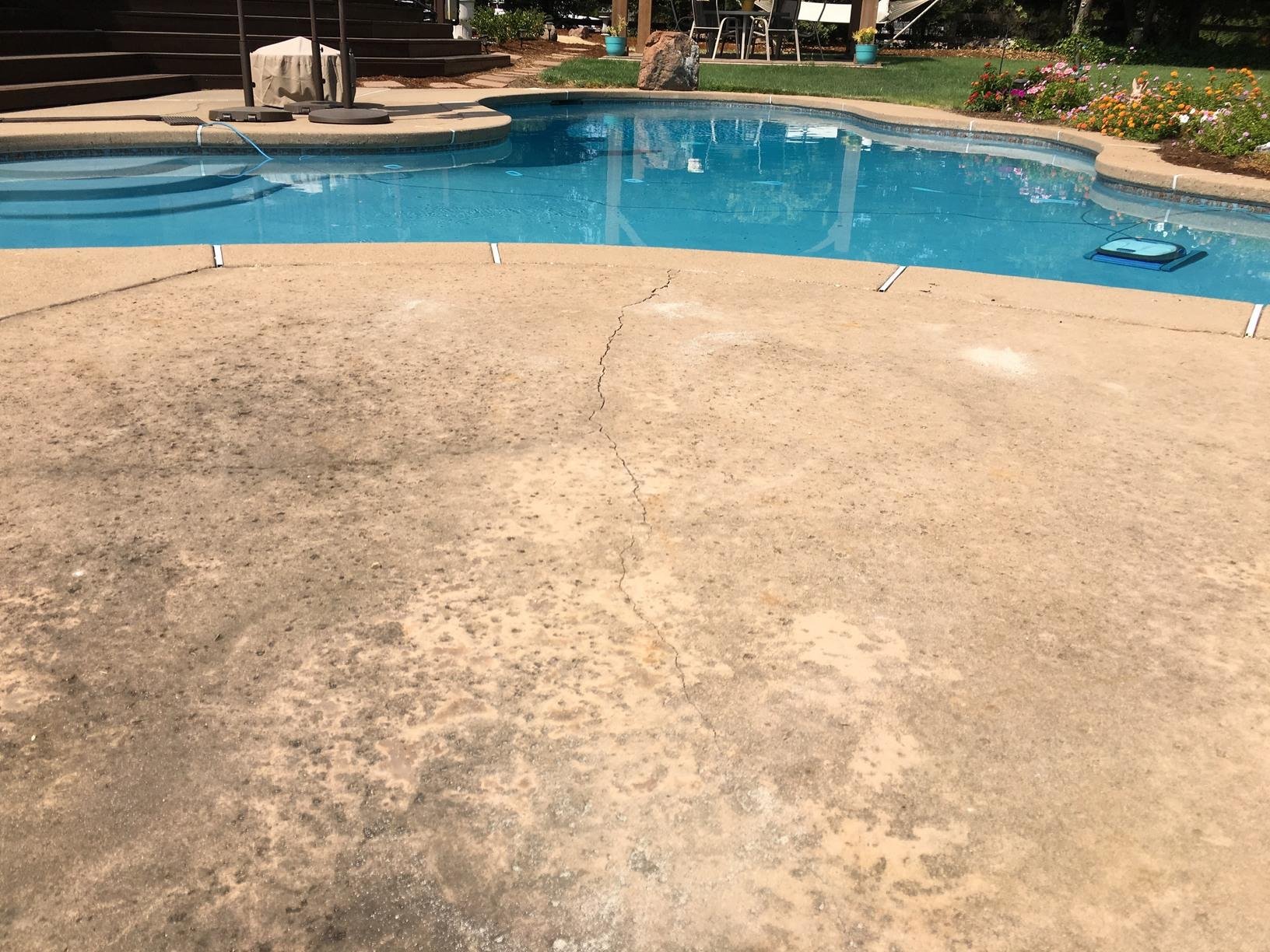 Pool Deck Polylevel Lift in Granite Bay, CA - After Photo