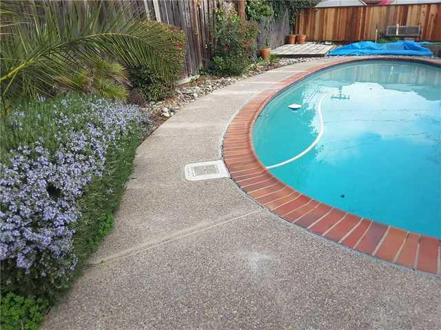 Leveling around a pool deck