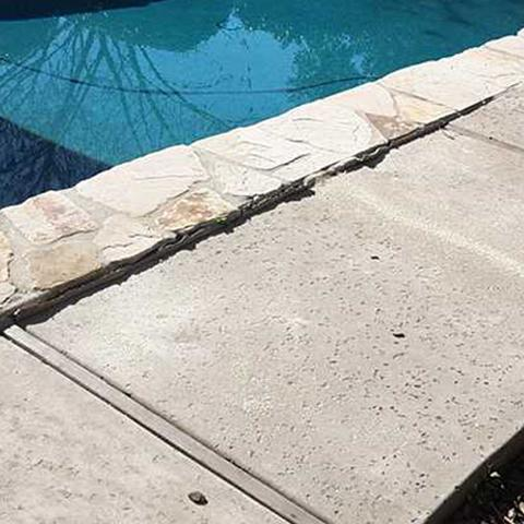 Lifting Pool Deck - After Photo