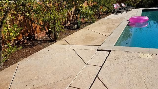 Pool Deck, Level Me Up, in Los Altos, CA