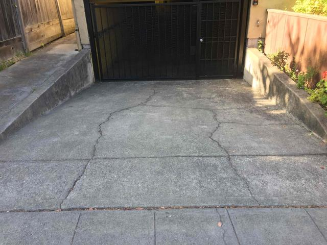 Driveway this way, in Berkeley, CA 94703