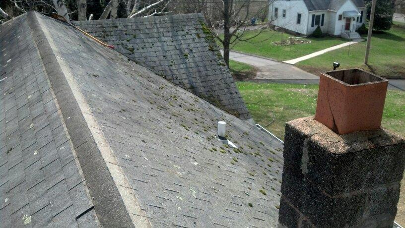 North Branford, CT Roof Replacement - Before Photo