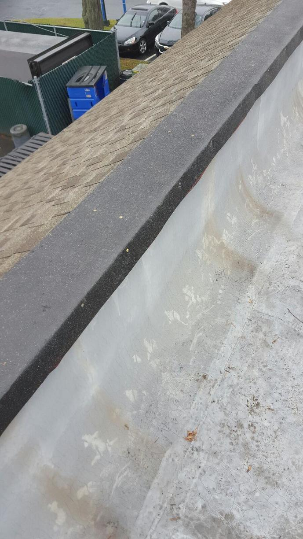 Roof Repair in Fairfield, CT - Before Photo