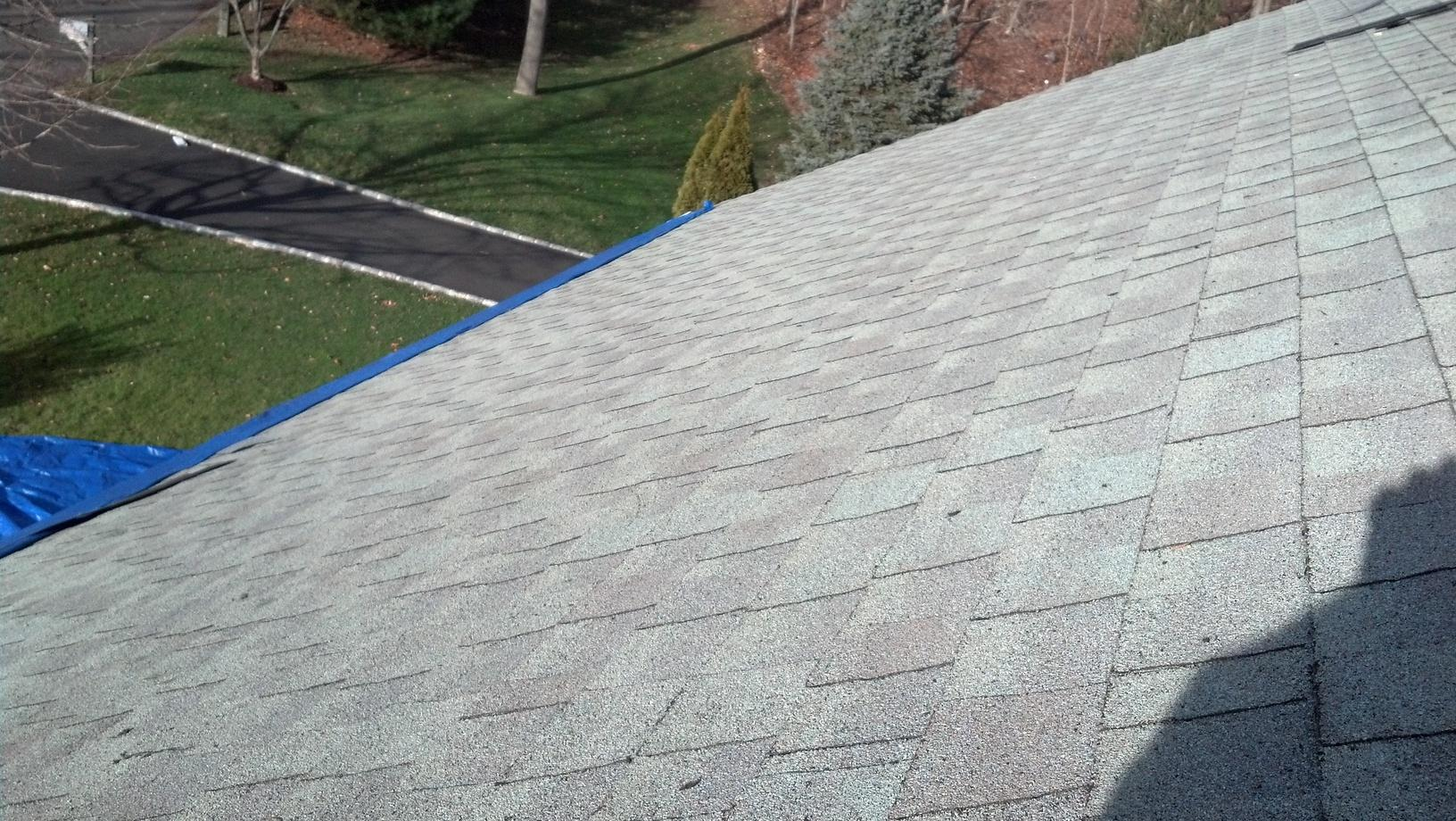 Complete Roof Replacement in Monroe, CT - Before Photo