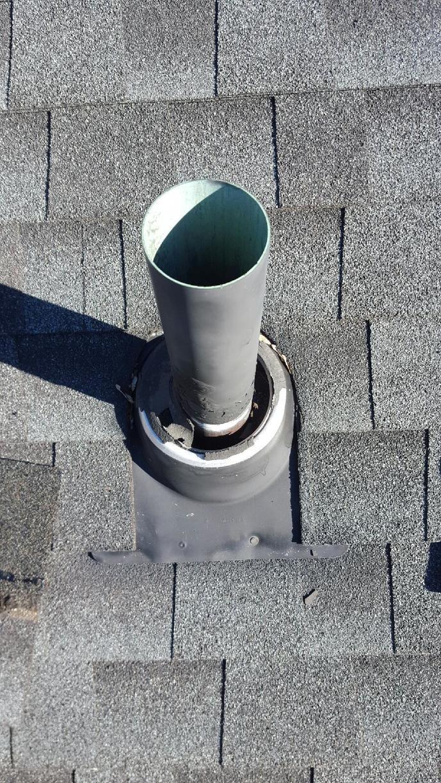 Roof Leak Repair in Fairfield, CT - Before Photo