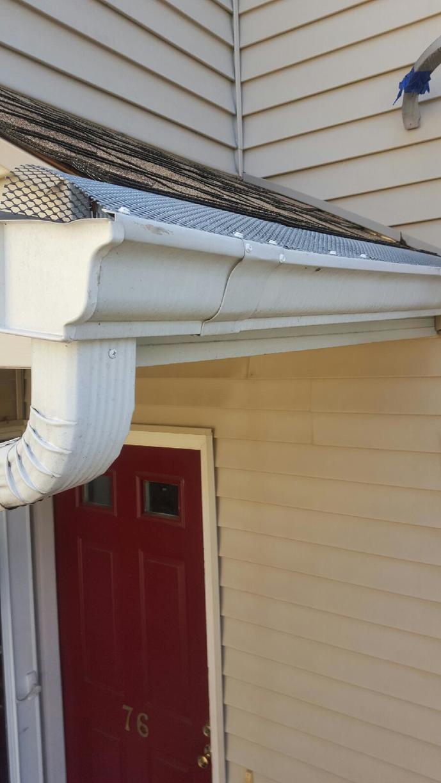 Gutter Replacement in Bridgeport, CT  - Before Photo