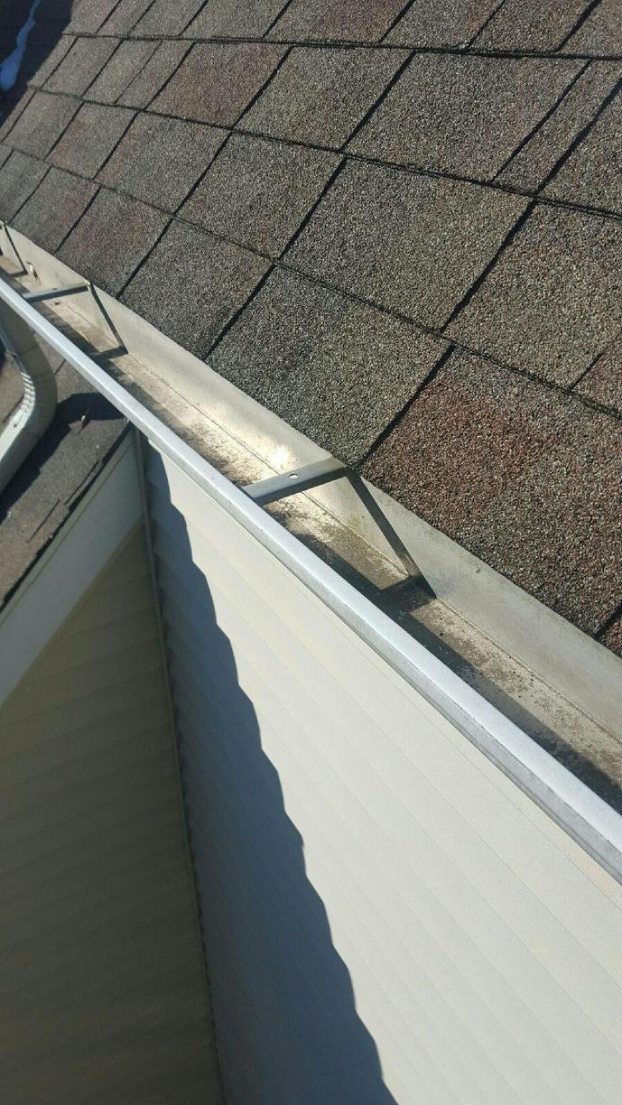 Gutter Replacement & Install in Stamford, CT  - Before Photo