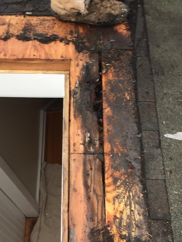 Wood Rot Repair in Trumbull, CT - Before Photo