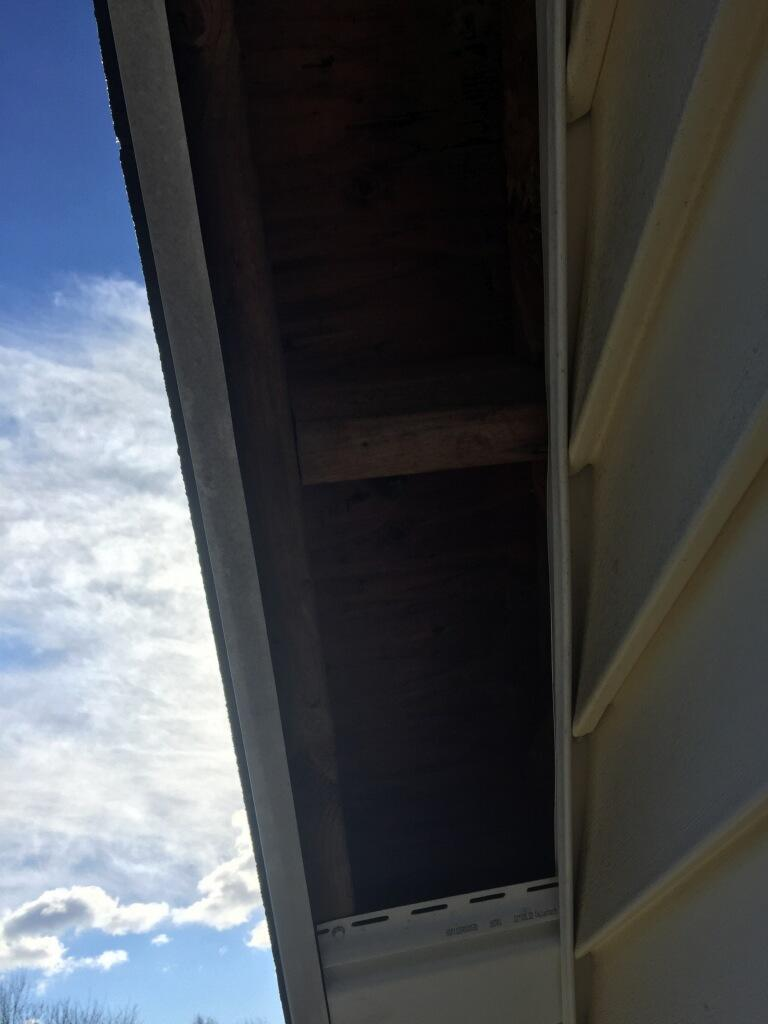 Roof Repair in Trumbull, CT - Before Photo