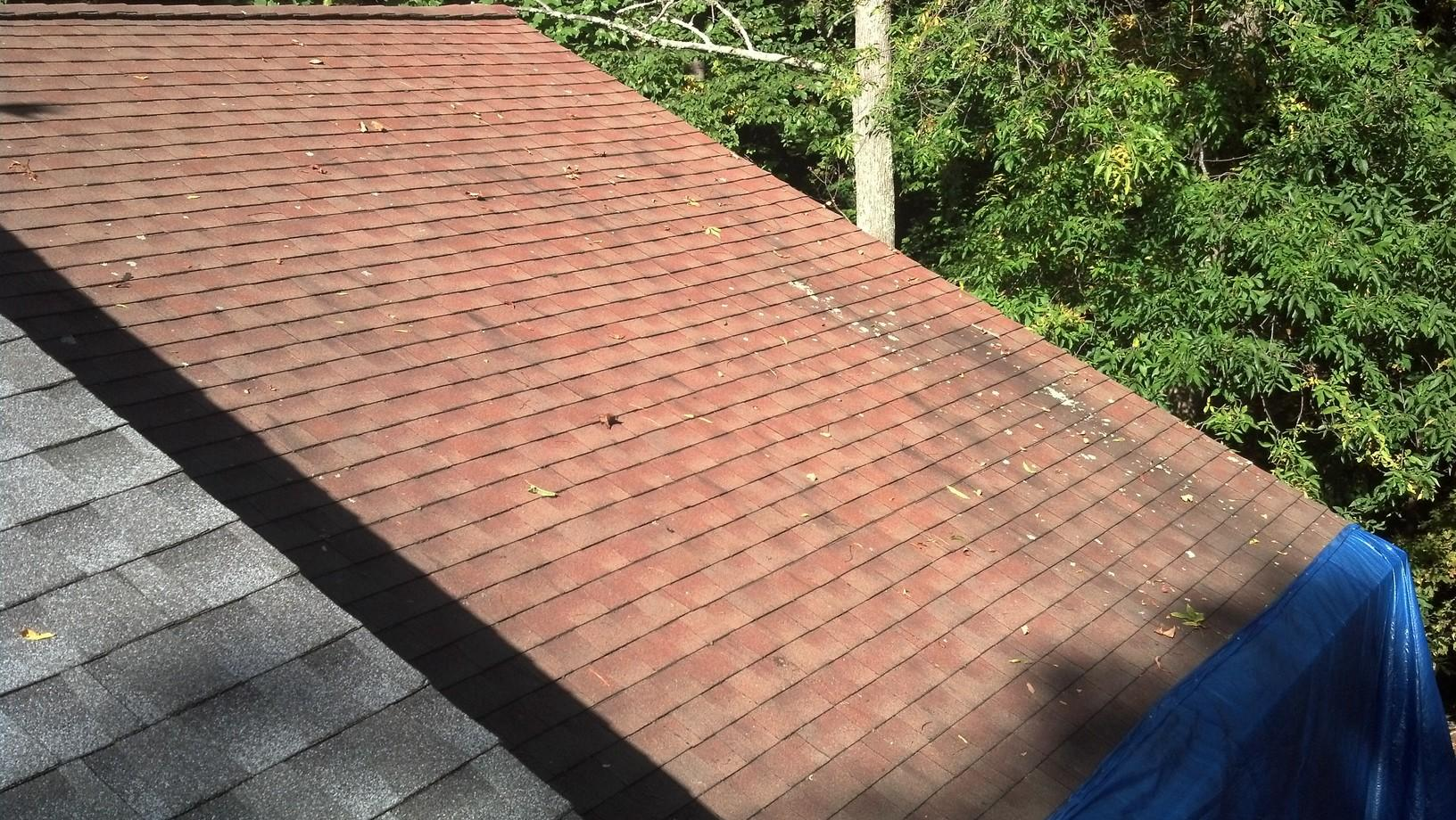 Roof Replacement in Ridgefield, CT - Before Photo