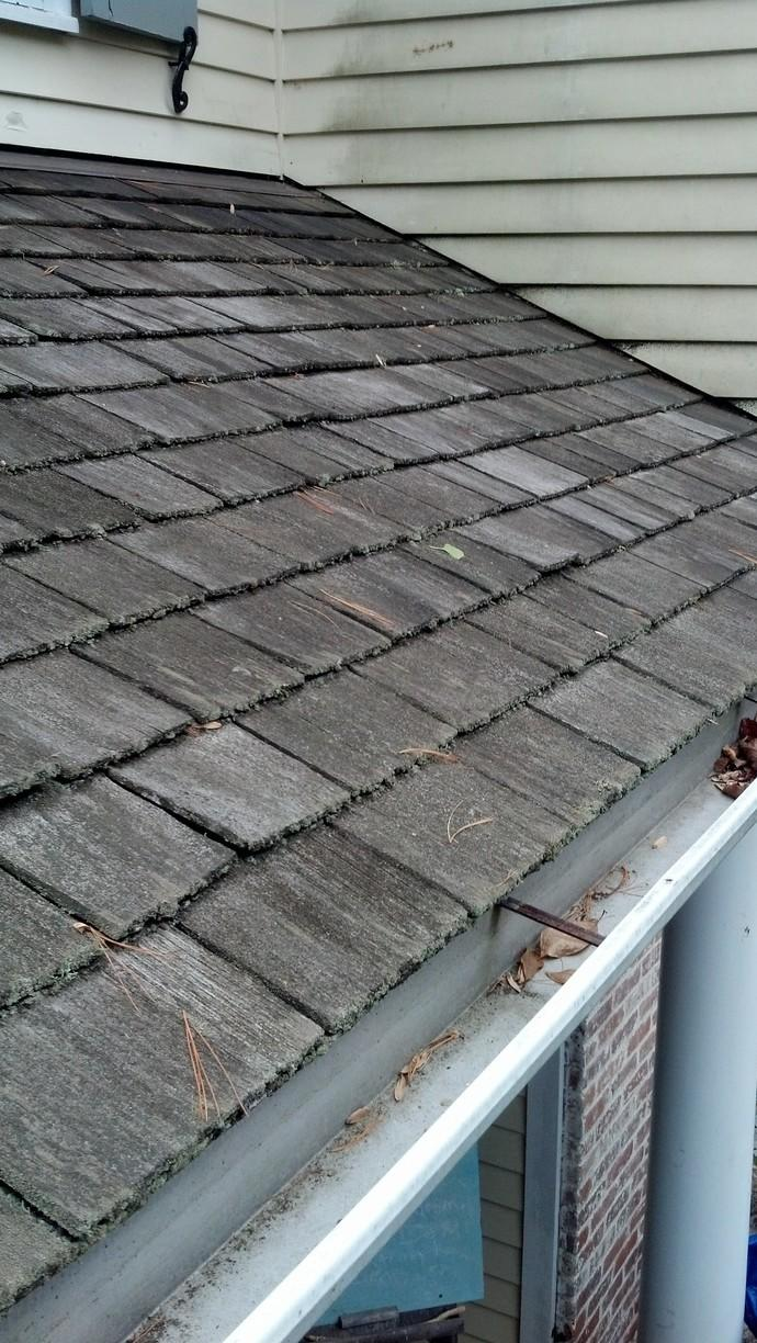 Roof Replacement in Darien, CT - Before Photo