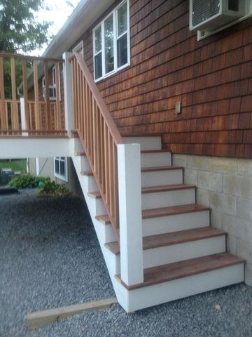 Deck Installation in Monroe, CT - After Photo