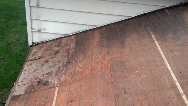 Roof Repair in Danbury, CT - Before Photo