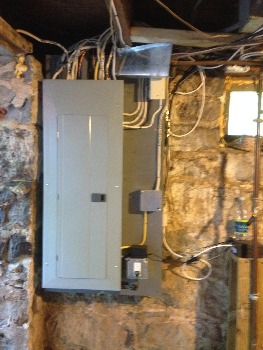 Electrical Panel Replacement in Seneca Falls, NY - After Photo