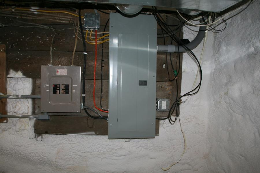 Updated Electrical for Geothermal Energy in Jamesville, NY - After Photo
