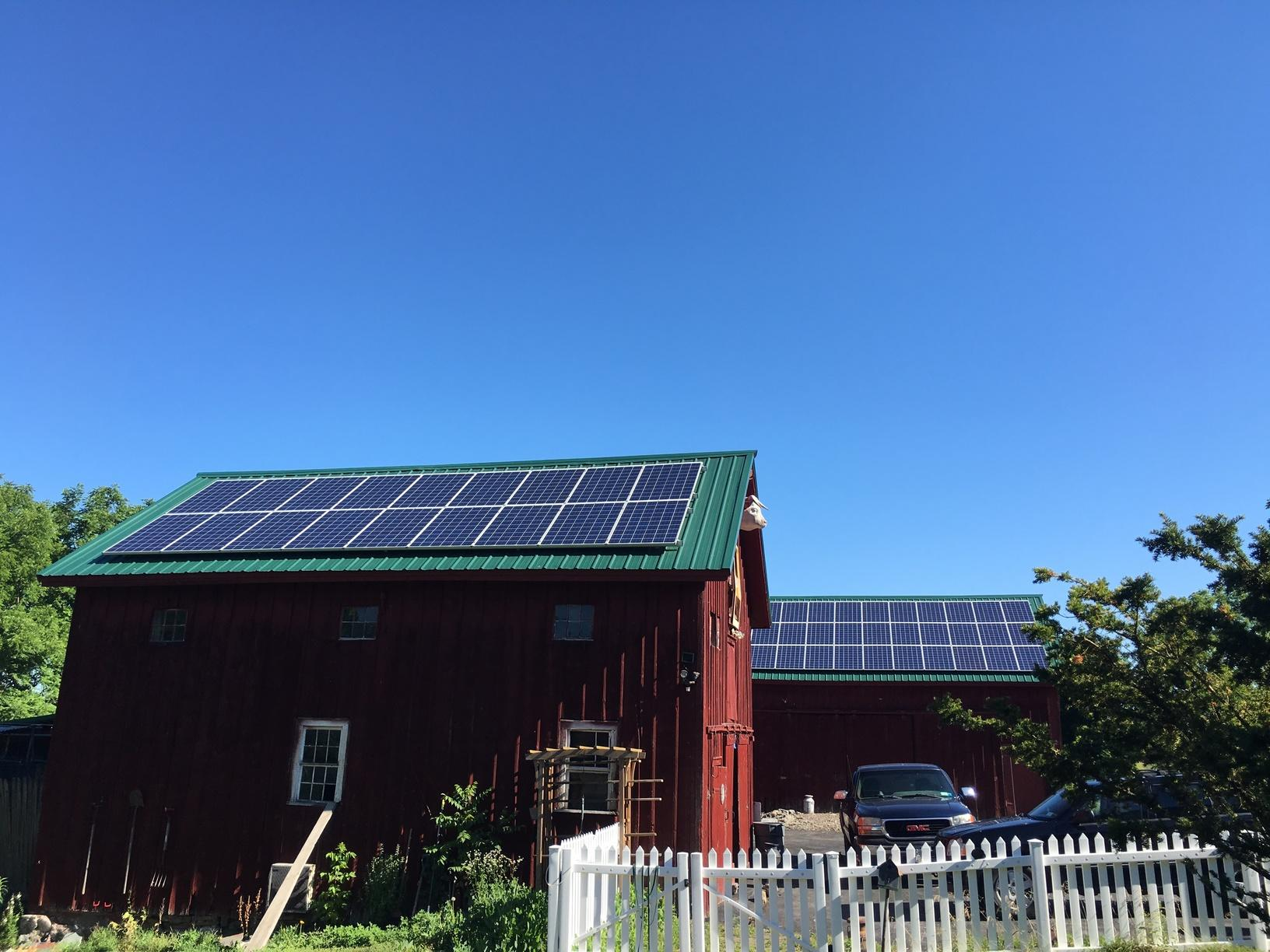 Solar Installation in Auburn, NY - After Photo
