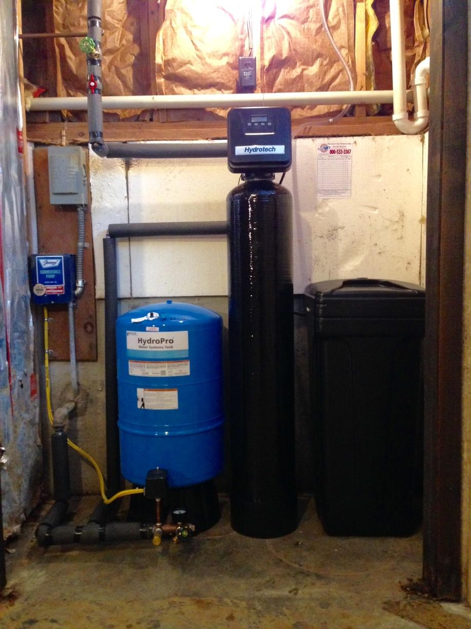 New Water Treatment System in Ithaca, NY - After Photo