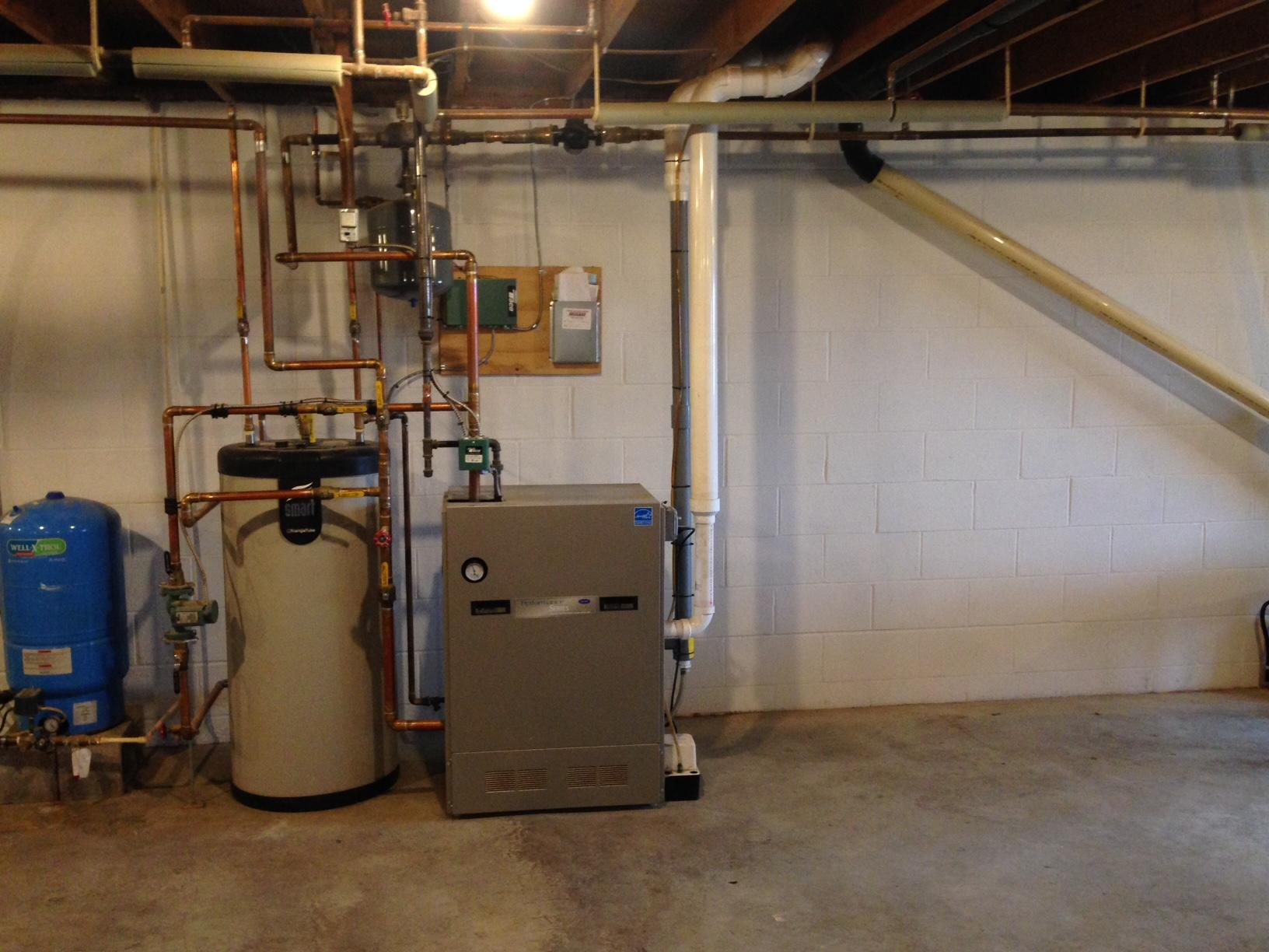 Water Conditioning System in Auburn, NY - Before Photo