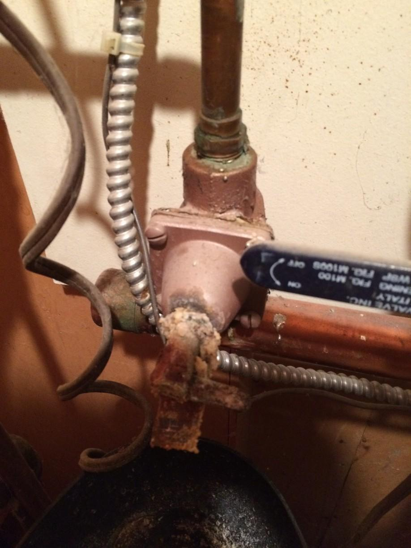 Boiler Repairs in Ithaca, NY - Before Photo