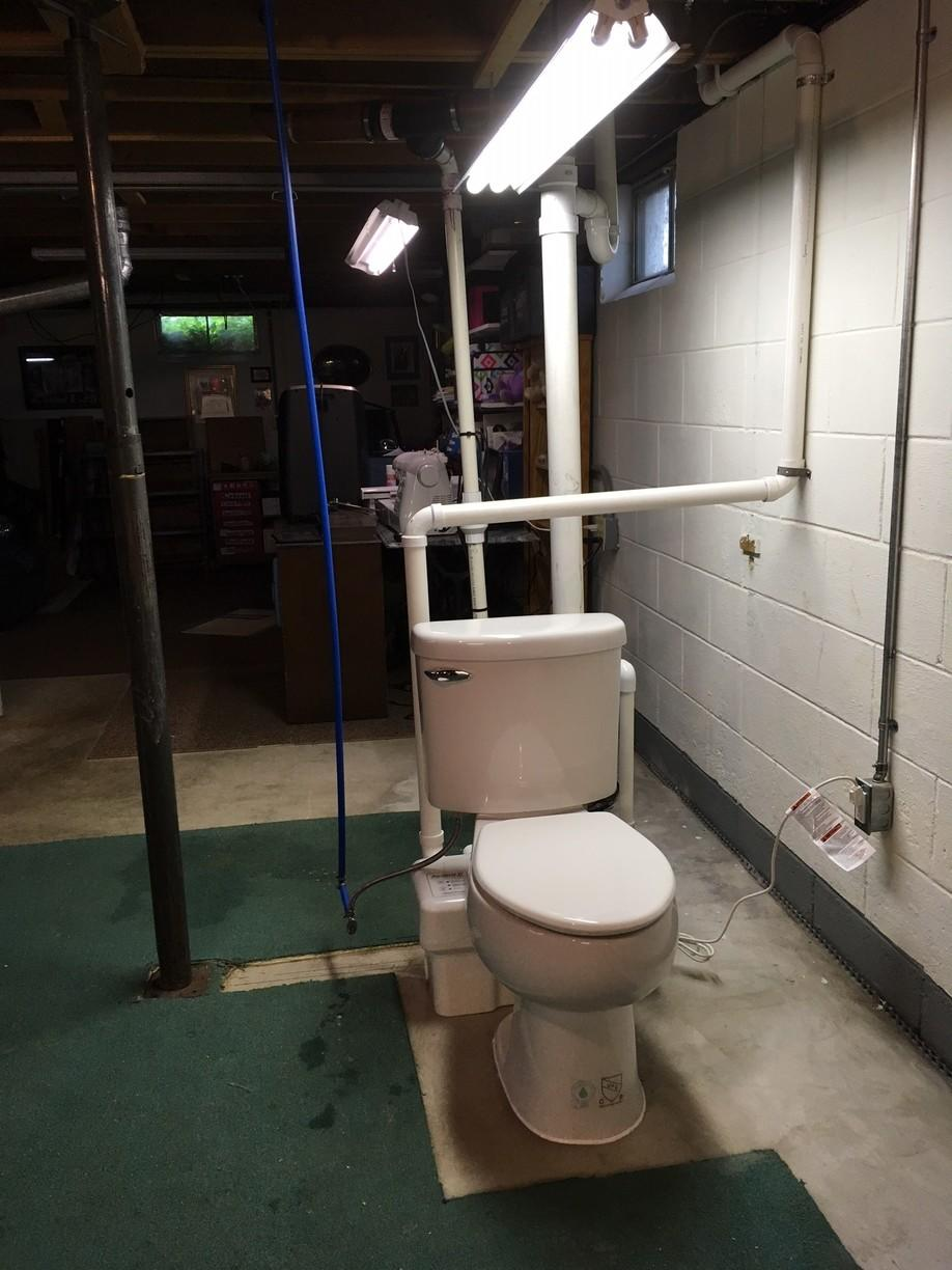 Toilet Installation in Auburn, NY - After Photo