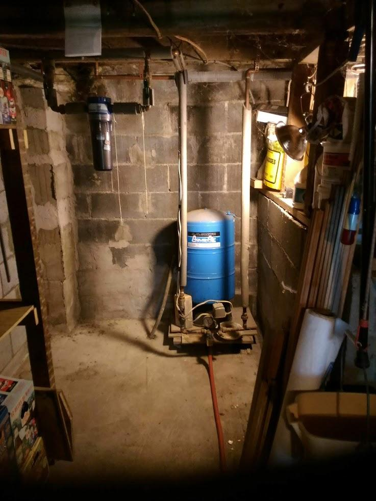 Water Conditioning System in Newfield, NY - Before Photo