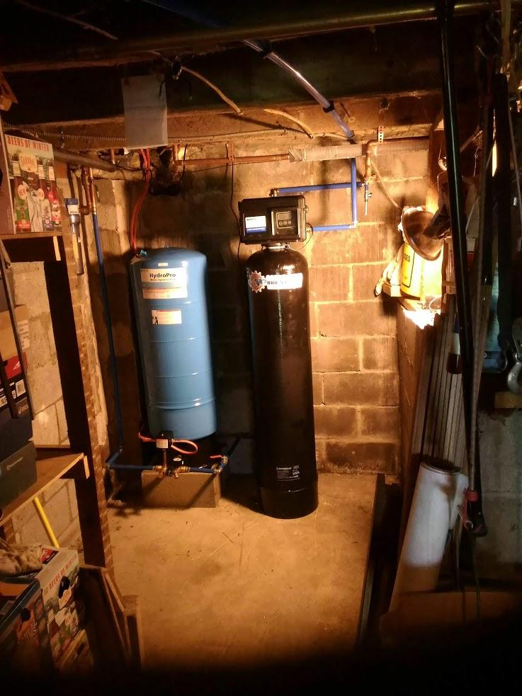 Water Conditioning System in Newfield, NY - After Photo