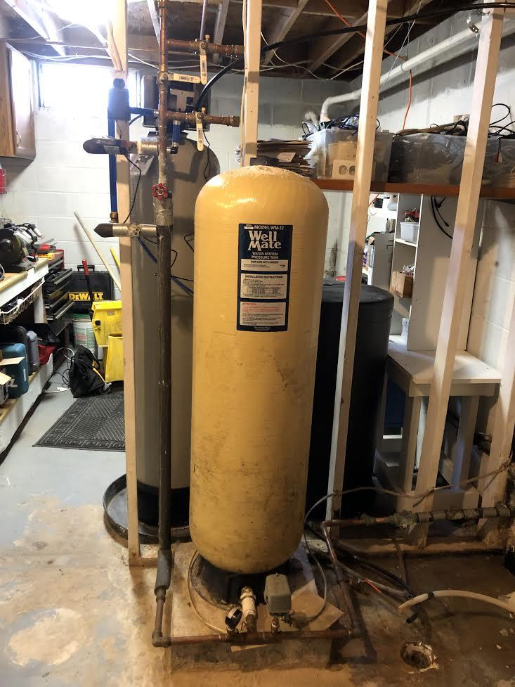 Pressure Tank Replacement in Auburn, NY - Before Photo