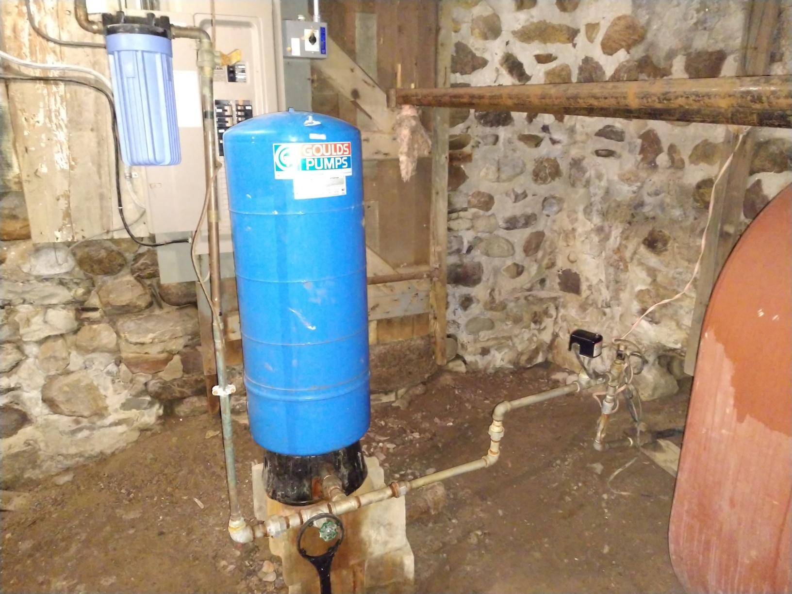 Pressure Tank Replacement in Clifton Springs, NY - Before Photo