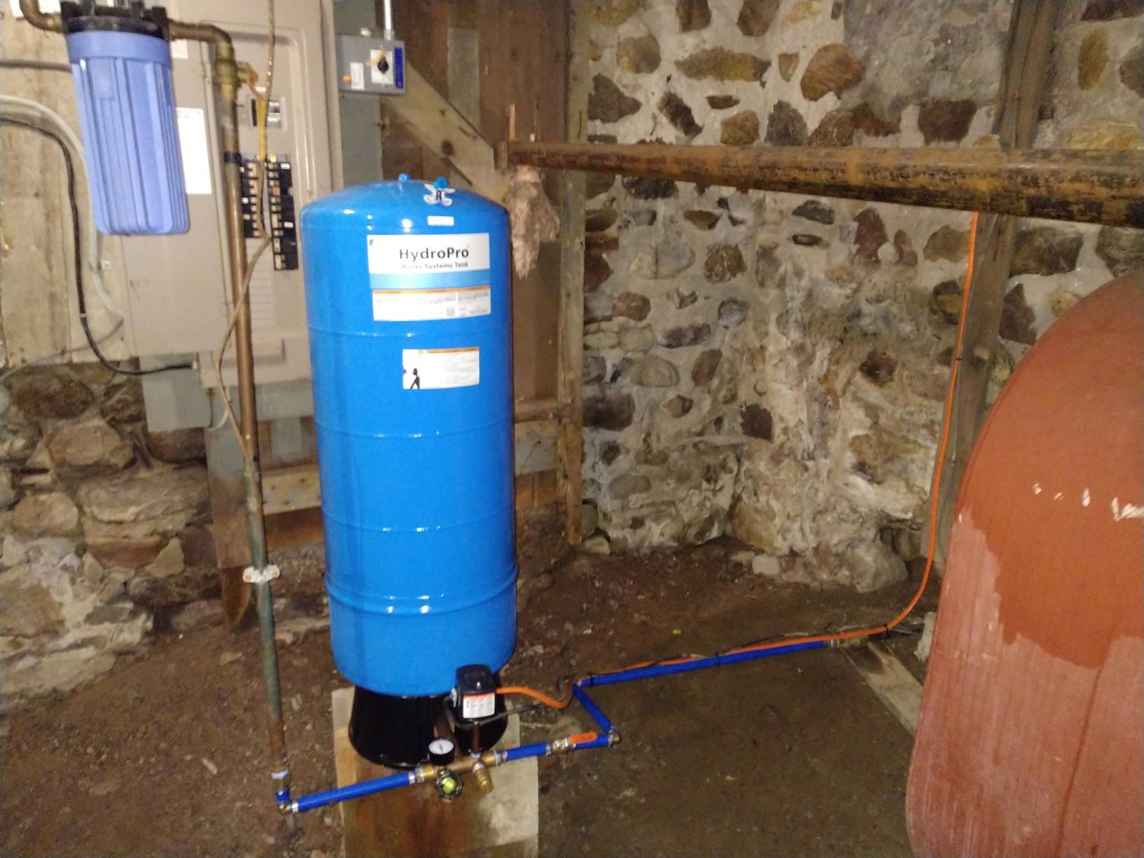 Pressure Tank Replacement in Clifton Springs, NY - After Photo
