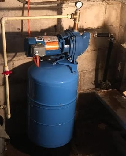 Well Pump Install in Newark, NY - After Photo