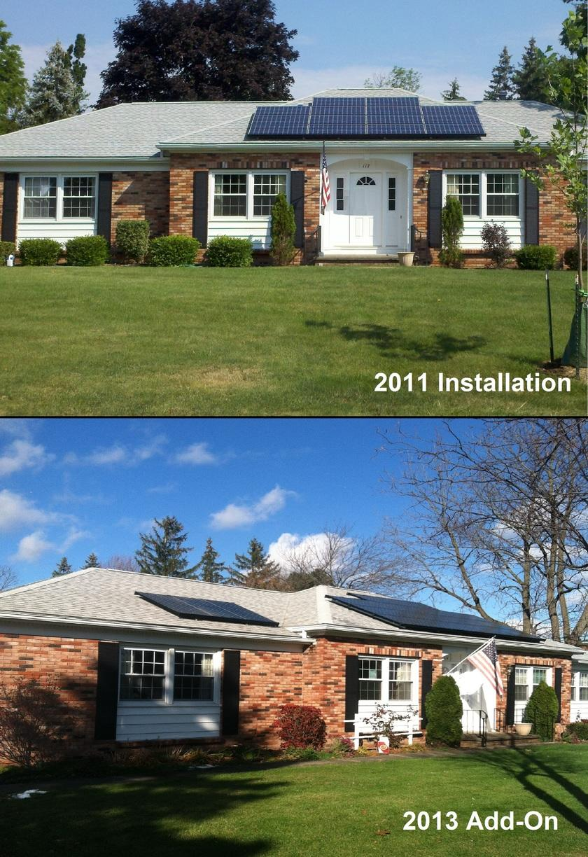 Solar Installation & Add-On in Canandaigua, NY - After Photo