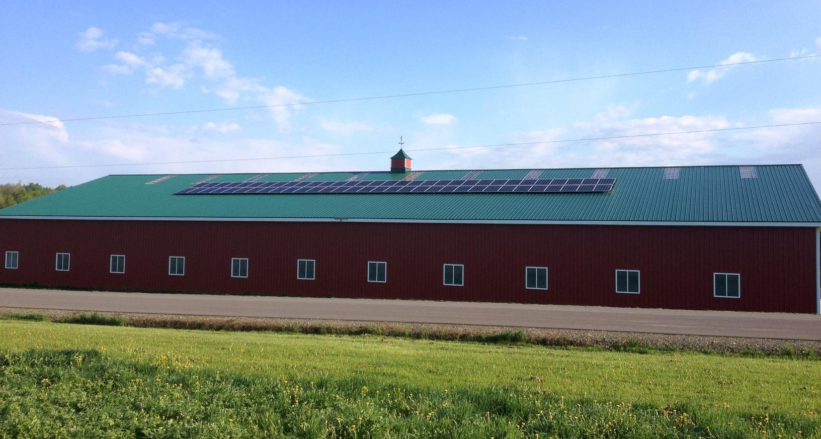 Solar Panel Installation in Cortland, NY - After Photo