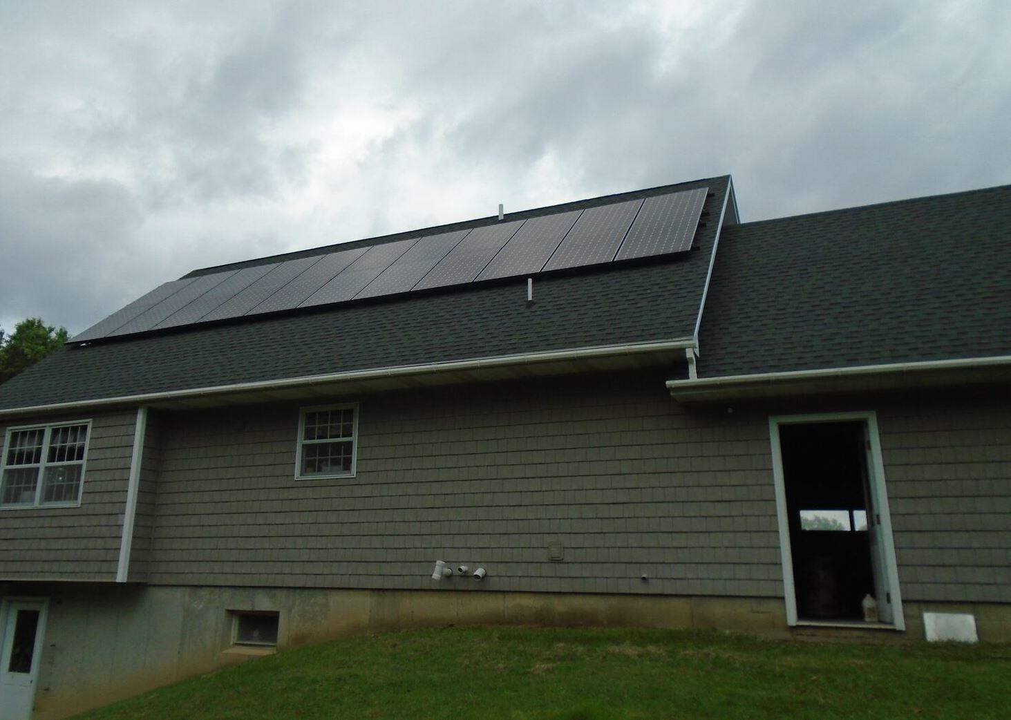 Solar Panel Install in Dansville, NY  - After Photo