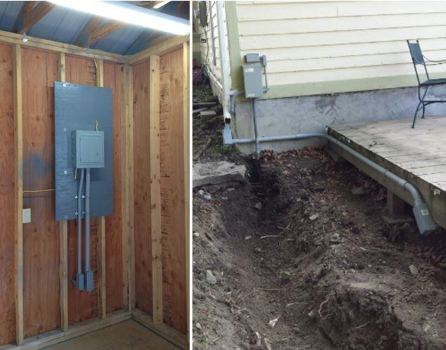 Sub Panel Installation in Trumansburg, NY - After Photo
