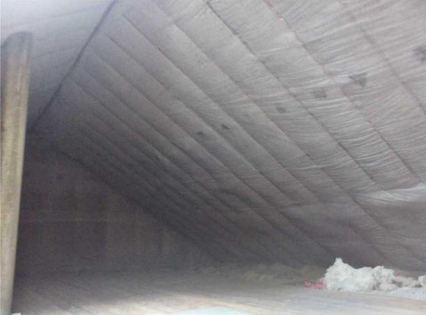 Dense Packed Cellulose Insulation in Lyons, NY - After Photo