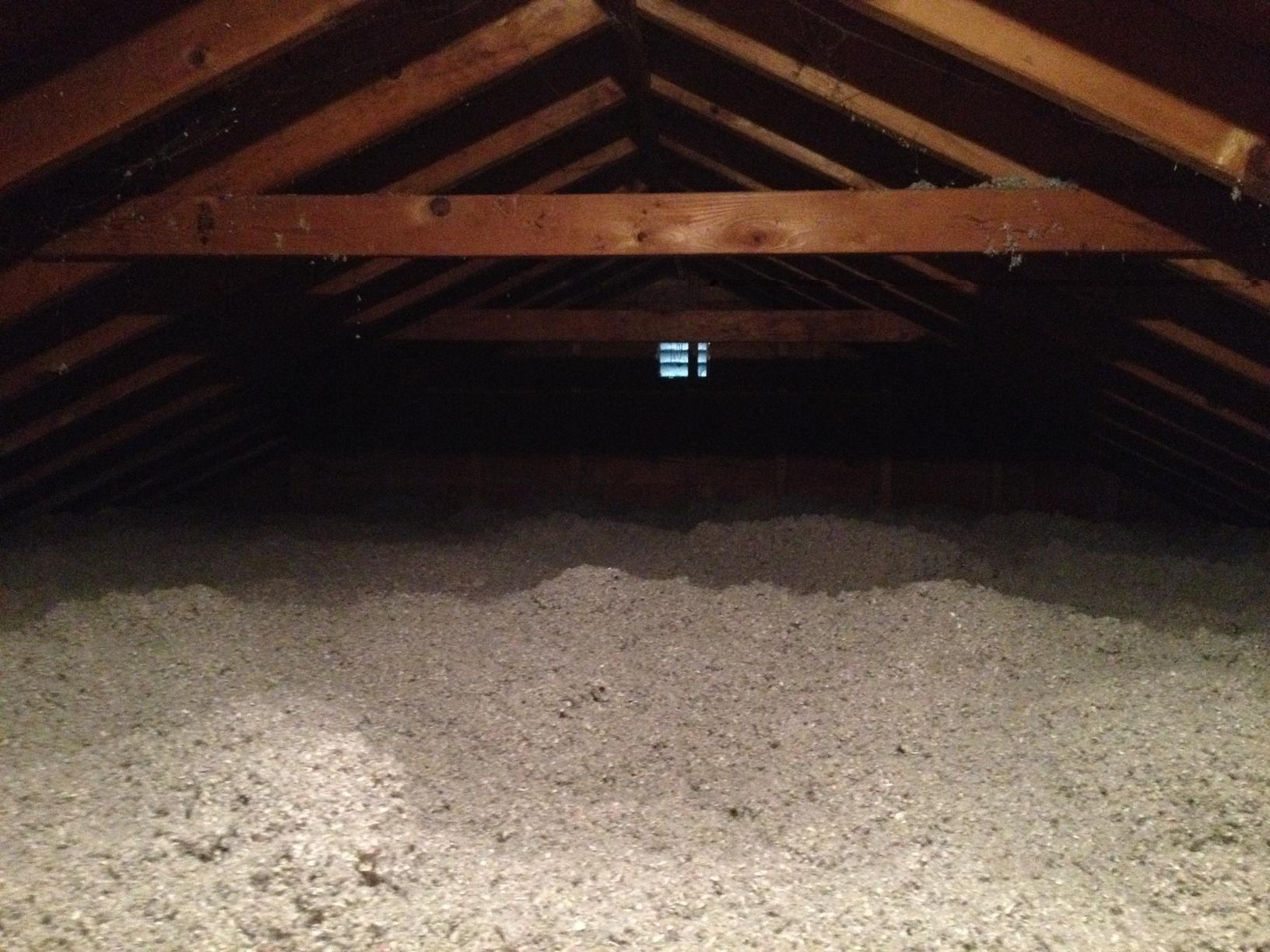 Attic Insulation in Rochester, NY - After Photo