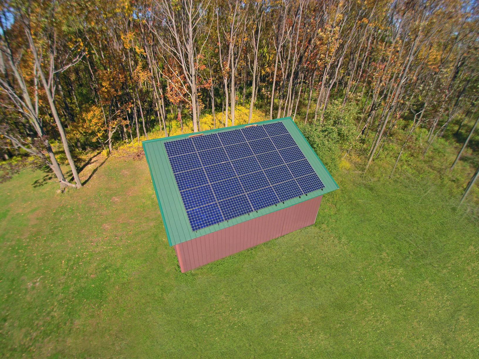 Solar Install in Middlesex, NY - After Photo