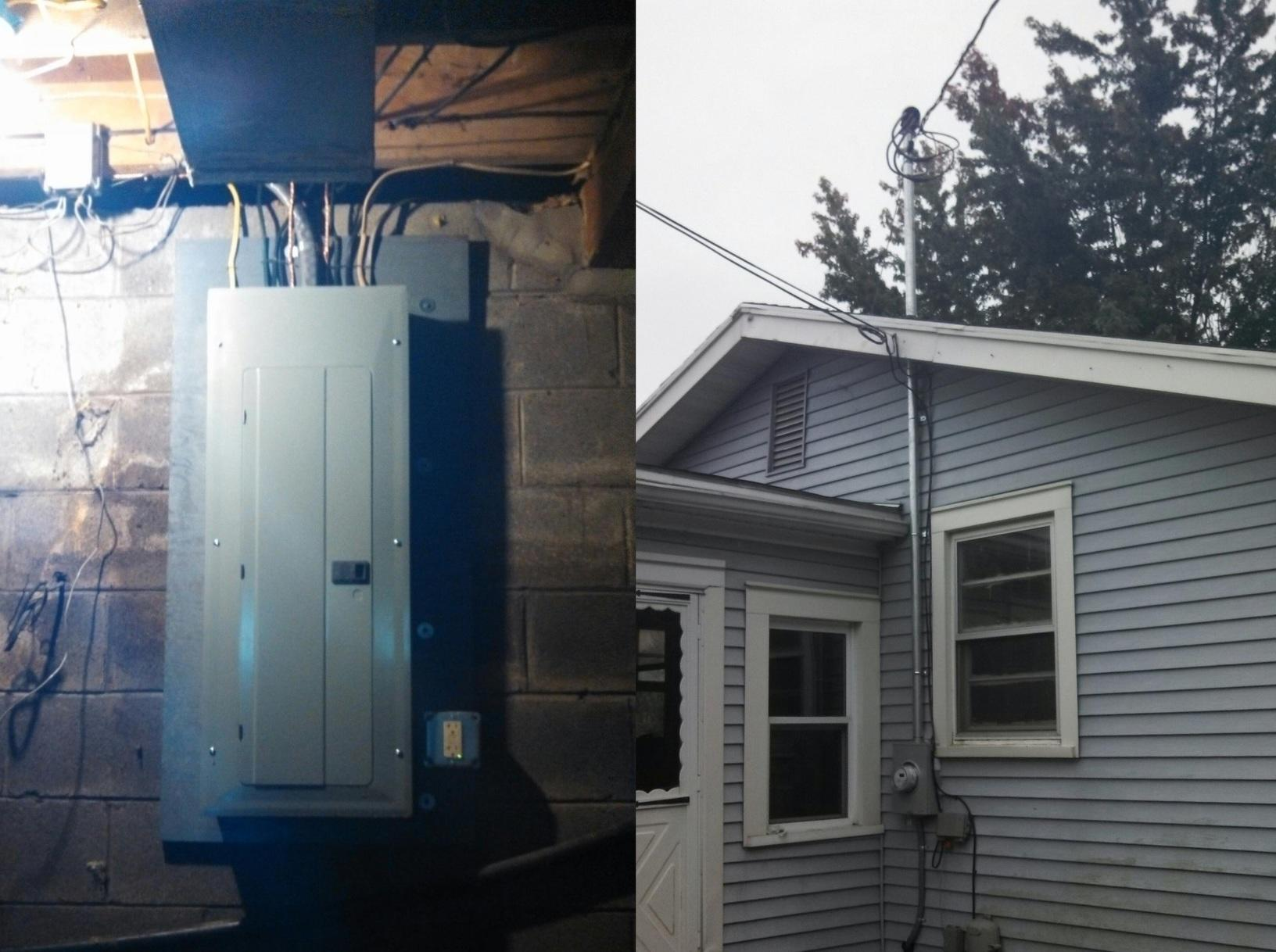 New Electrical Service in Sodus, NY - After Photo