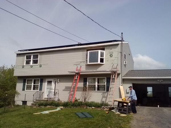 Energy Efficient Window Installation in Lafayette, NY - Before Photo