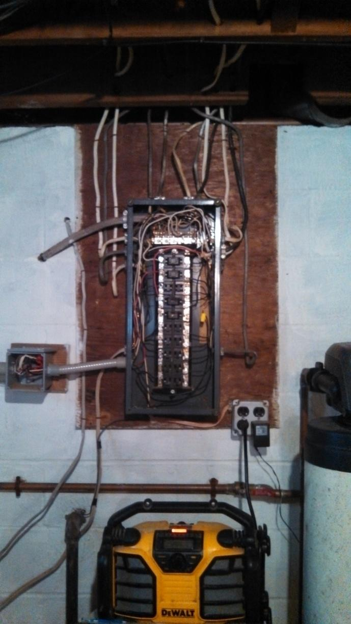 Electrical Service Installation in Penn Yan, NY - Before Photo