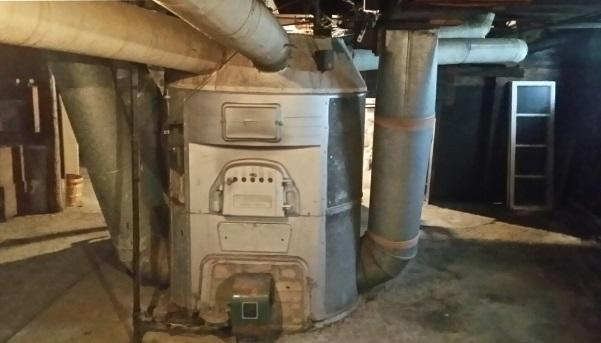 New Furnace Installation in Lyons, New York - Before Photo