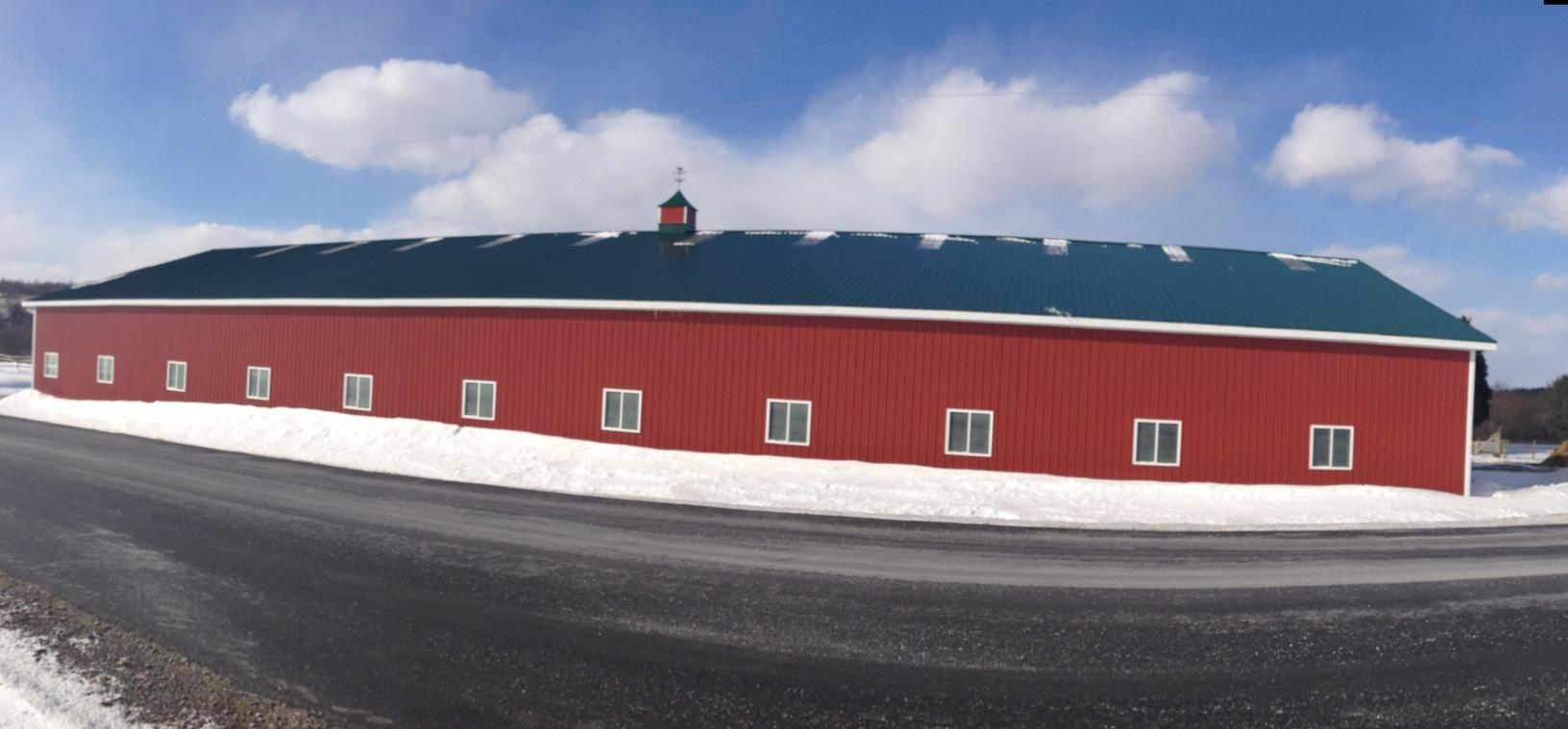 Solar Panel Installation in Cortland, NY - Before Photo
