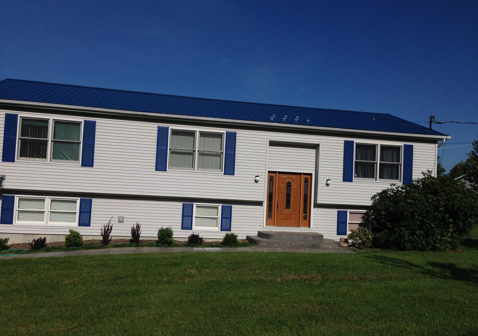 Solar Installation in Ithaca, NY - Before Photo