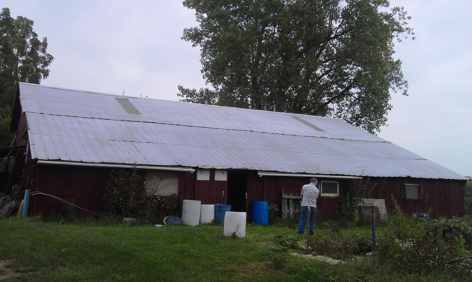 Port Byron, NY Solar Installation - Before Photo