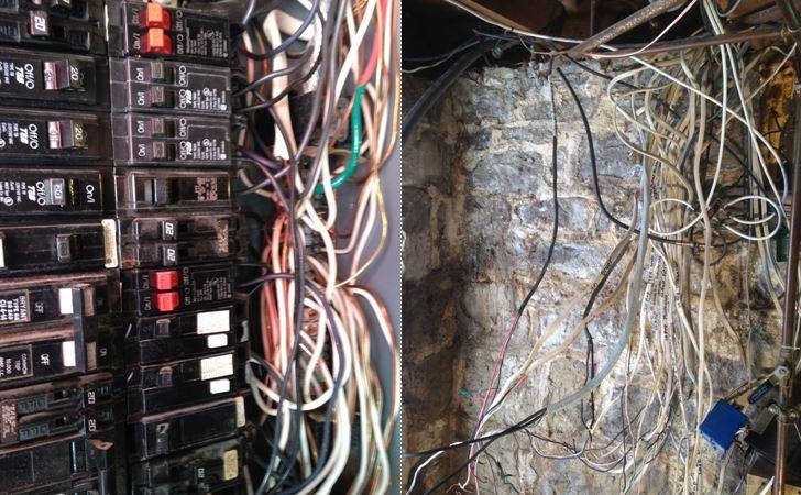 Electrical Panel Replacement in Seneca Falls, NY - Before Photo